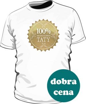 Koszulka 100 Procent Fantastycznego Taty