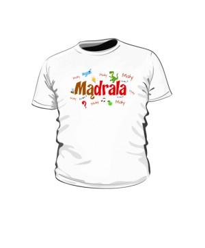 Mądrala Koszulka Dziecięca Napis