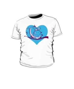 Serce Niebiańskie Love Koszulka Dziecko