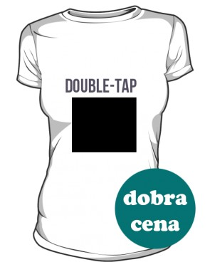 double tap womens tee