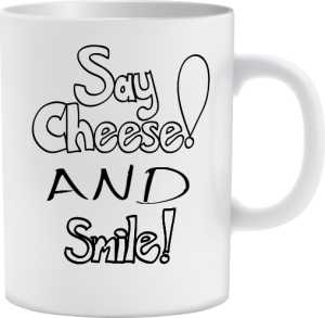 Cheese and Smile Kubek