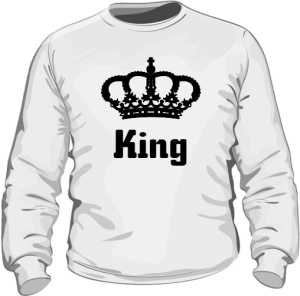 Bluza King Korona bez Kaptura