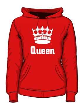 Bluza Queen Korona z Kapturem