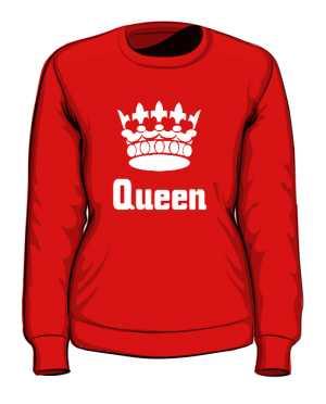 Bluza Queen Korona bez Kaptura