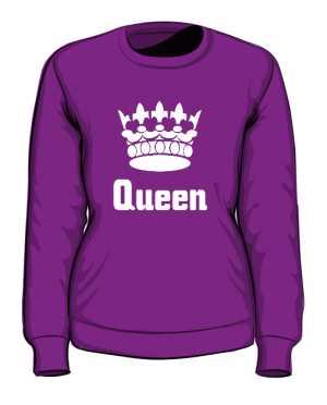 Bluza Queen Korona bez Kapturem