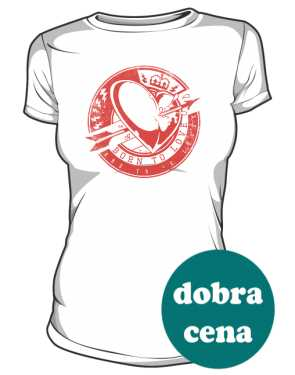 Walentynkowa koszulka