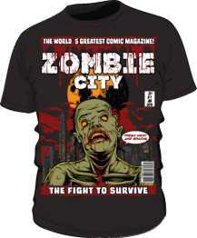 koszulka zombie 249760