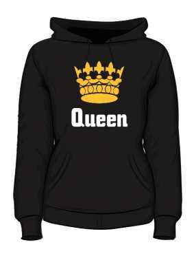 Bluza Queen Złota Korona z Kapturem