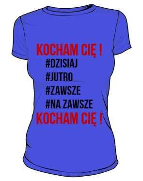 Koszulka Kocham Cię