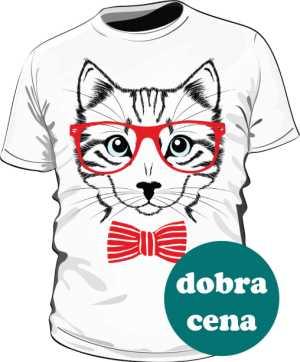 Koszulka kot hipster
