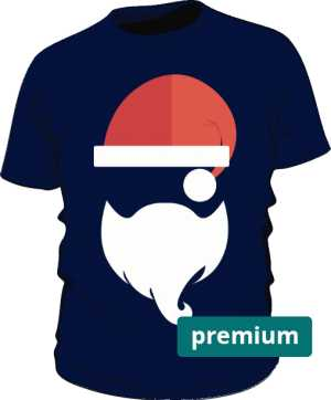 Koszulka Premium z Mikołajem