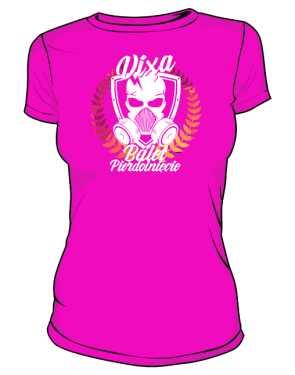 koszulka damska różowa z ksywa