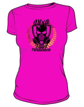 koszulka damska różowa z ksywą