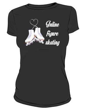 Koszulka z rolkami figurowymi