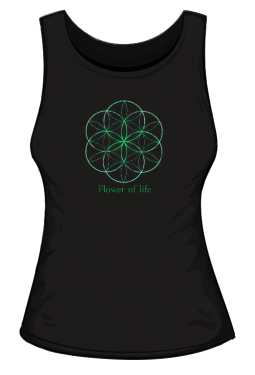Flower of life Top  damski