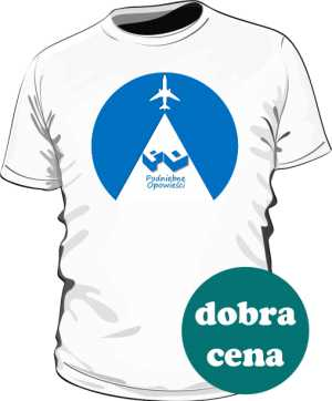 Koszulka z logo okrągłym