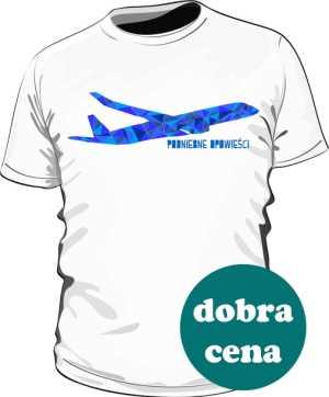 Koszulka z kolorowym samolotem MN
