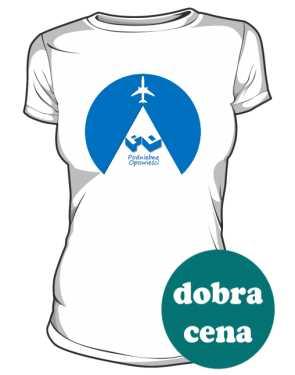 Koszulka damska z okrągłym logo