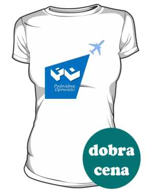 Koszulka damska z logo w latawcu