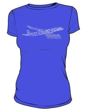 Koszulka damska z samolotem