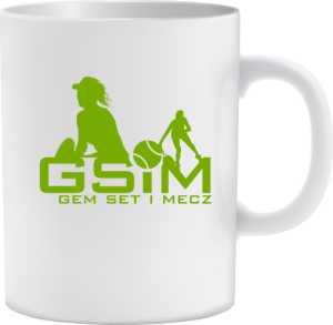 Kubek z logo GSiM