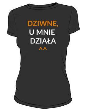 Koszulka z nadrukiem w rozm a4
