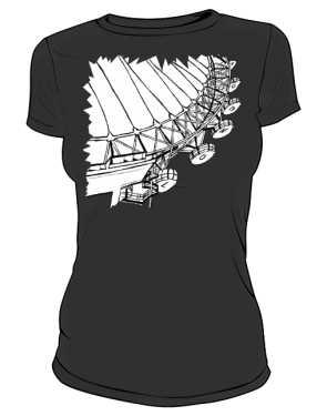 Koszulka z nadrukiem LONDYN