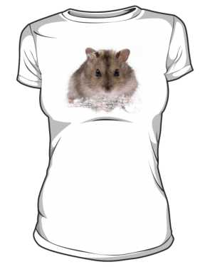 koszulka damska chomik