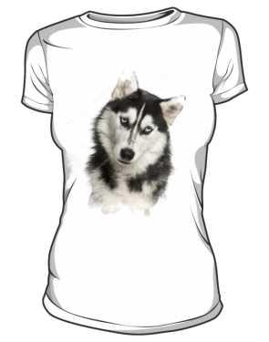 koszulka damska husky