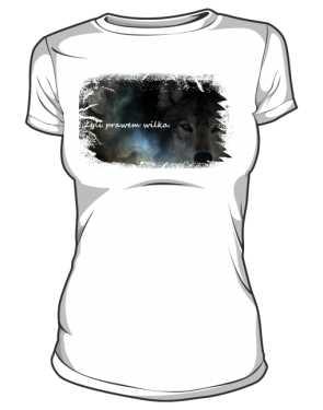 zyli prawem wilka koszulka damska