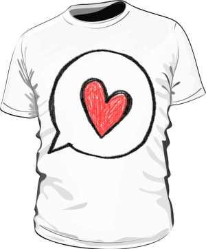 Koszulka z nadrukiem 298343