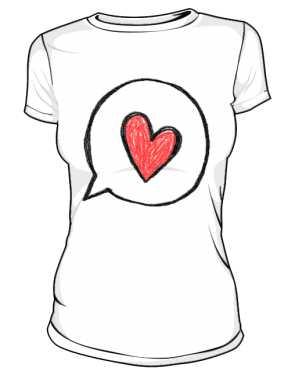 Koszulka z nadrukiem 298344