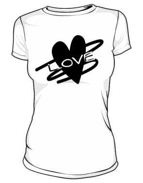 Koszulka z nadrukiem 298355