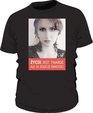 Koszulka Fana Czarna męska