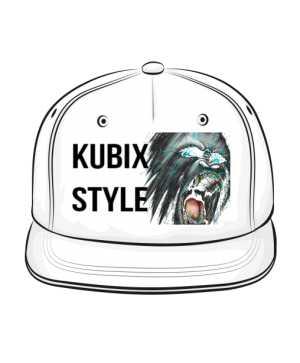 Biała Czapka KUBIX STYLE