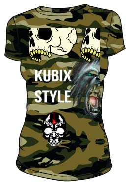 Koszulka Moro Damska KUBIX STYLE