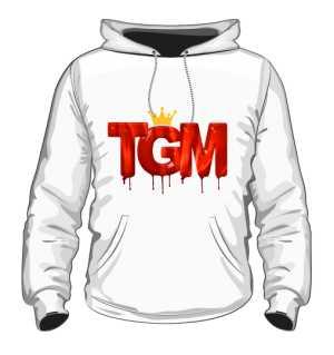Bluza z Kapturem TGM Płyta