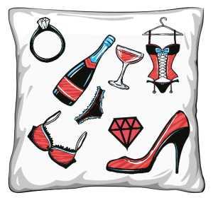 Poduszka dla Pannej młodej
