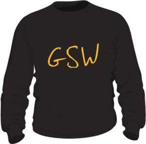 Bluza bez kaptura GSW CZARNA