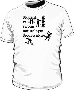 Koszulka z nadrukiem 308156