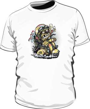 Koszulka z nadrukiem 308161