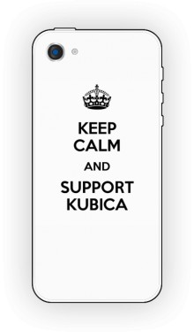 Support Kubica Etui Iphone 5 or 5s White