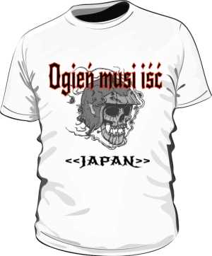 Koszulka JAPAN by PAVLO