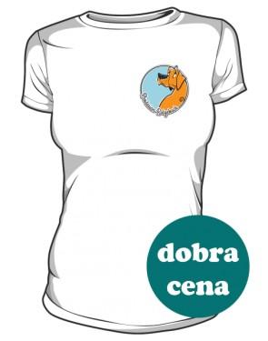 Koszulka damska biała AdopcjeRR