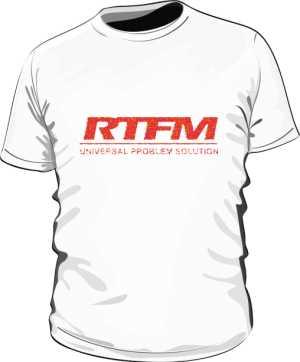 RTFM blured eco