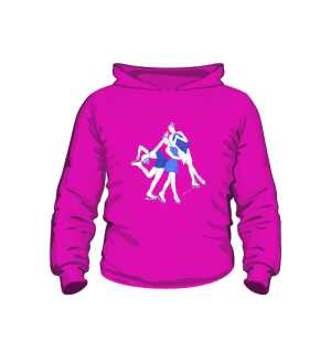 różowa bluza