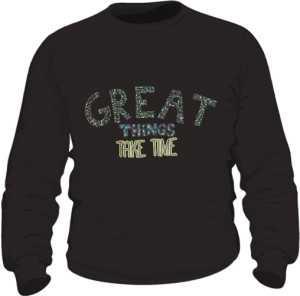 Great things bluza czarna