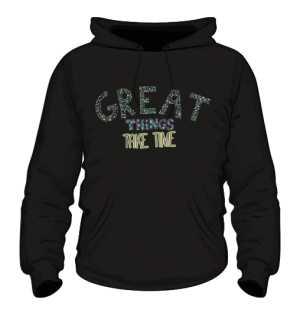 Great things bluza K czarna