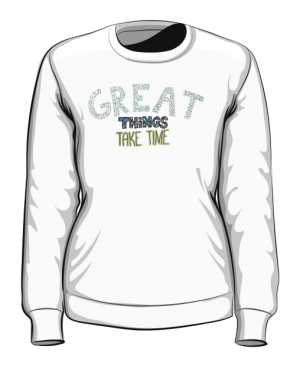 Great things bluza biała