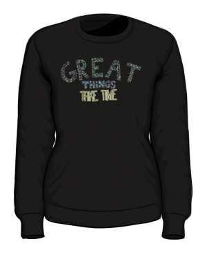 Great thins bluza czarna